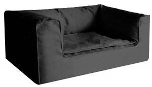 Orthopädisches Hundebett in Couchoptik mit Robin ORTHO Hundebett