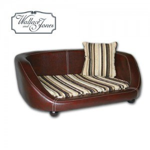 Hunde Sofa - Wallace and Jones Oxford II Small Chestnut