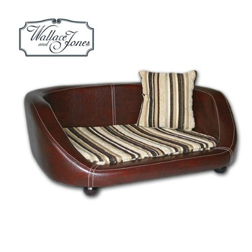hunde sofa wallace and jones oxford ii small chestnut hundebett kaufen der online ratgeber. Black Bedroom Furniture Sets. Home Design Ideas