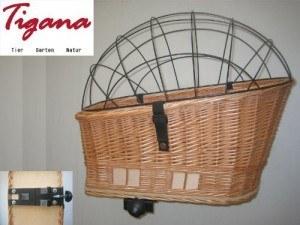 Hundekorb Fahrrad - Tigana - Hundefahrradkorb für Gepäckträger